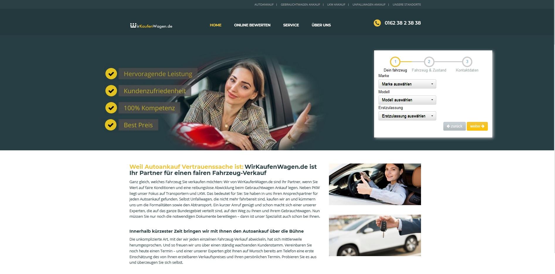 Seriöser Gebrauchtwagenankauf in Köln