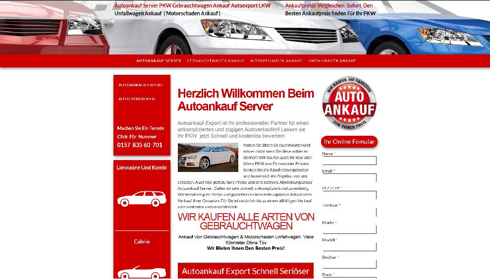 Autoankauf-Server.de | Autoankauf Menden | Autoankauf Export Menden